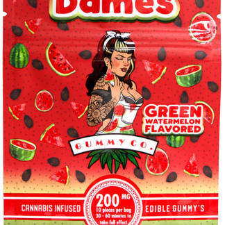 Dames Edibles Green Watermelon