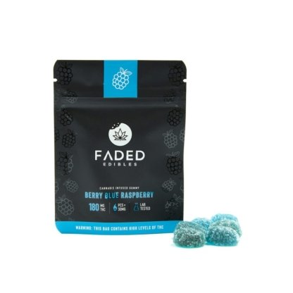 Faded Edibles Berry Blue Raspberry