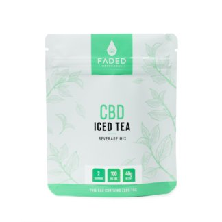 Faded Edibles CBD Iced Tea