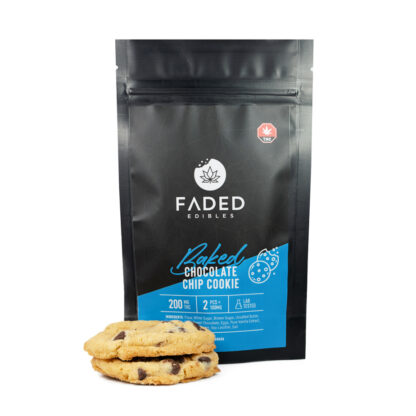 Faded Edibles Chocolate chip cookie