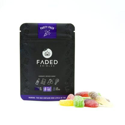 Faded Edibles Party pack