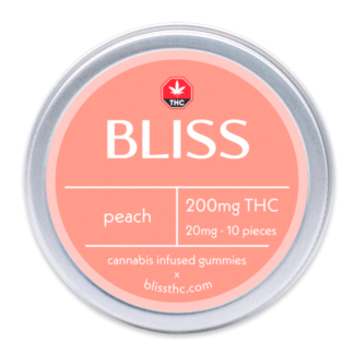 Bliss Edibles Peach