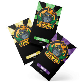 Golden Monkey Extracts Bubba OG Kush Shatter