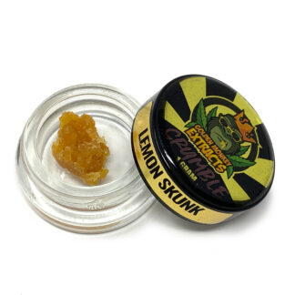 Golden Monkey Extracts Lemon Skunk Crumble